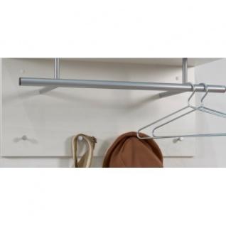 441-001 Spot weiss Wandgarderobe Garderobenhaken Wandpaneel Kleiderständer - Vorschau 3