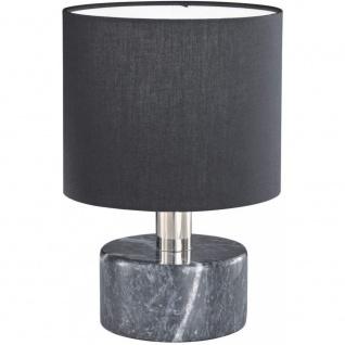 503900102 ORLANDO schwarz Tischleuchte Nachttischleuchte Stehlampe ca. 27 cm ...