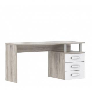 RDIB211-T30 Rondino Schreibtisch PC Tisch Arbeitstisch Bürotisch Sandeiche Nb...