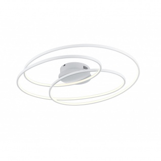 673918031 Deckenleuchte Gale weiß matt LED 50W 3000K Höhe ca. 14.5 cm