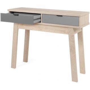 Konsole Tisch Beistelltisch Schminktisch 002928 EPIK 40 Elegance Endgrain / G...