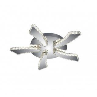 Deckenleuchte Deckenlampe Phin chrom transparent klar LED, R62485106