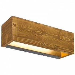 223790130 BRAD LED Wandleuchte Wandlame 13, 5 Watt Echtholz Massivholz