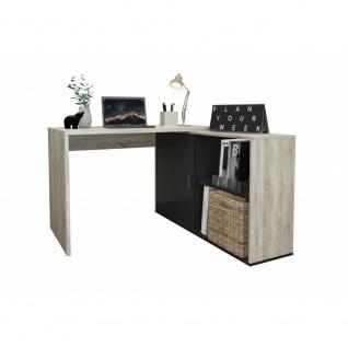 Schreibtisch Winkelschreibtisch Bürotisch Arbeitstisch Home Office ca. 119 x ...