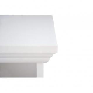 002825 LANDWOOD 31 Weiß Schreibtisch Arbeitstisch Bürotisch Laptop Tisch Land... - Vorschau 5