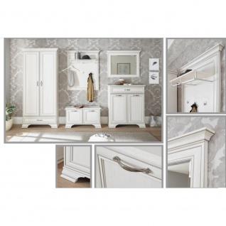 Hochschrank Garderobenschrank Kleiderschrank 70-177-17 VENEDIG Used Weiß ca. ... - Vorschau 3