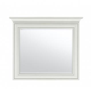 Garderobenspiegel Wandspiegel Spiegel VENEDIG Used Weiß 88 x 76 x 7 cm