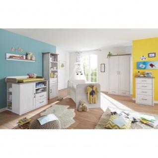 Babyzimmer Jugendzimmer Kinderzimmer LUCA Babybett / 2trg. Kleiderschrank / W... - Vorschau