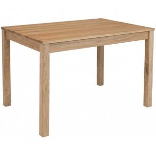 Esszimmertisch Küchentisch Tischgruppe LILLY Eiche Massiv Echtholz ca. 140 x ...