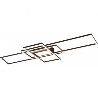 LED Deckenleuchte Deckenlampe, Wohnraumlampe 620010442 IRVINE anthrazit