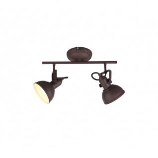 R80152024 Strahler Gina rostfarbig, 2x E14 W Höhe ca. 25, 5 cm