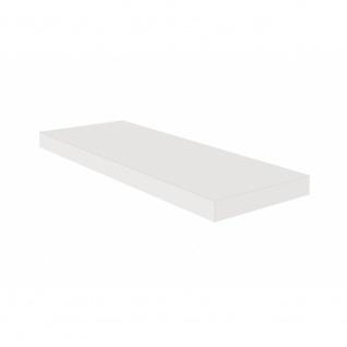 Wandregal Wandboard Hängeregal Schweberegal 0521_60 Weiß matt Lack 60 cm