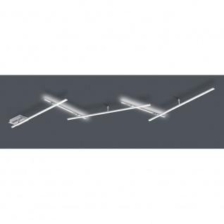 674610507 INDIRA 3x6 W LED Deckenleuchte Deckenlampe Switch Dimmer ca. 245 cm...