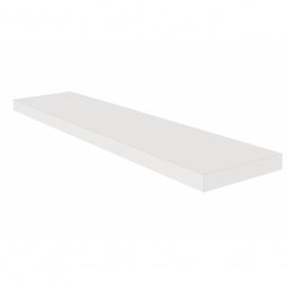 Wandboard Steckboard Hängeregal Wandregal 0521_90 Weiß matt Lack 90 cm breit