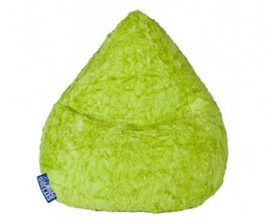 28261 Sitzsack XL grün Sitzhocker Plüschsitzsack Magma Sitting Point