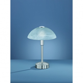525790107 DONNA weiß / nickel matt Touch LED Tischleuchte Nachttischleuchte S...