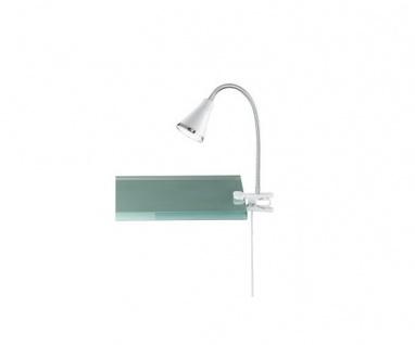 R22711101 Arras weiss LED Klemmleuchte Nachttischleuchte Lampe 5 Watt