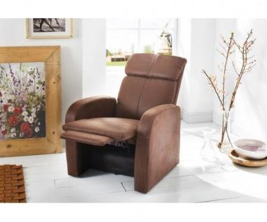 Power Polstersessel TV-Sessel Fernsehsessel Relaxsessel mit Funktion in antik... - Vorschau 2