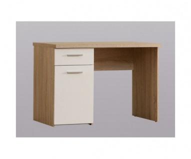 WNB935-Q36 Schreibtisch Winnie Bürotisch Eiche Sägerau Dekor ca. 110 cm breit