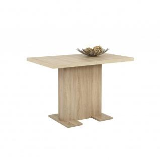 063551 BRITT T Eiche Sonoma Sägerau Nb. Tisch Esszimmertisch Küchentisch Beis...