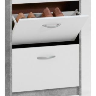 411-003 Step 3 Light Atelier Nb. / Weiß Beton Schuhkipper Schuhregal Schuhsch... - Vorschau 2