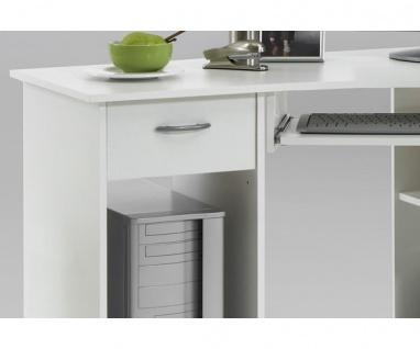350-001 Schreibtisch Weiss Felix FMD - Vorschau 2