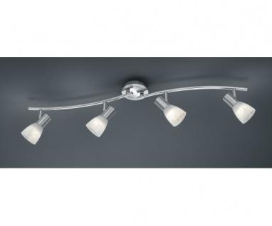 871010407 LEVISTO Nickel matt LED-Balkenlampe 4 x E14 6 Watt Länge 88 cm