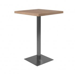 Bartisch Partytisch Beistelltisch Säulentisch ca. 105 cm hoch QUADRATO 70 Son...