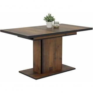 Esszimmertisch Küchentisch Speisezimmer Tischgruppe ausziehbar 120 x 80 cm 08...
