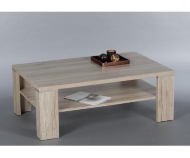 Couchtisch Beistelltisch Tisch 83-339-A4 Osaka Eiche SanRemo Hell Dekor