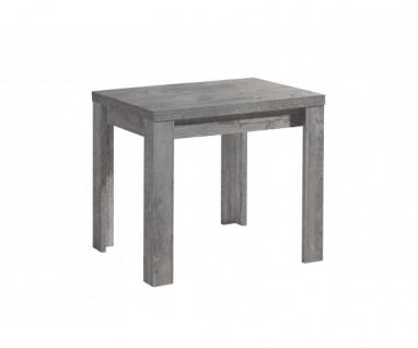 0590/ 80 x 60 Zip beton grau Optik Esszimmertisch Küchentisch Speisezimmer au...