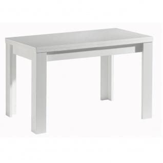 110 x 60 cm Tisch Esstisch Auszugstisch Küchentisch Funktionstisch ausziehbar...