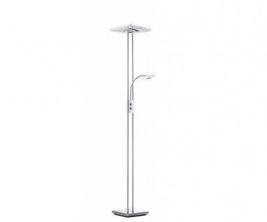 R42782106 Avignon Stehleuchte Stehlampe Lampe Chrom / weiss ca. 180 cm hoch