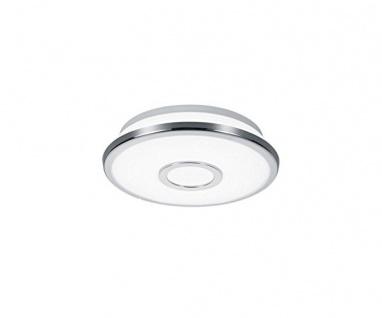 678711206 OSAKA 21 cm Durchm. LED Deckenleuchte Deckenlampe 12 Watt chrom