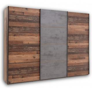 Kleiderschrank Schwebetüren Schiebetüren Schlafzimmer 270 cm MICHEL Old Style...