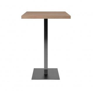 Bartisch Partytisch Beistelltisch Säulentisch ca. 105 cm hoch QUADRATO 70 Son... - Vorschau 2