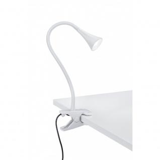 R22398101 Klemmleuchte Viper weiß, weiß 1x SMD 3W Schnurschalter, Flexibel