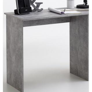 3004-001 Jackson Light Atelier Beton grau / weiß Schreibtisch Arbeitstisch Bü... - Vorschau 2