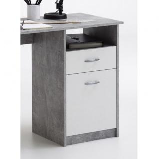 3004-001 Jackson Light Atelier Beton grau / weiß Schreibtisch Arbeitstisch Bü... - Vorschau 3