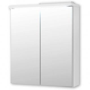 Spiegelschrank Badspiegel inkl. LED Beleuchtung ca. 60 x 69 x 20 cm POOL Weiß...