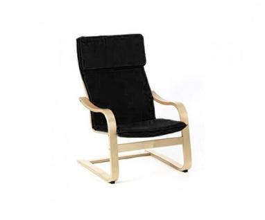 95320S2 Relaxsessel Schwingstuhl schwarz Siesta