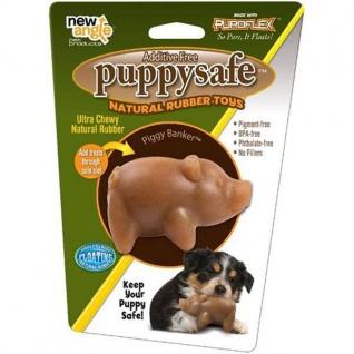 New Angle PuppySafe Piggy Banker aus 100% natürlichem Kautschuk