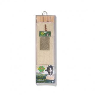 Wasabycat Deluxe Kratzbrett aus Holz mit Catnip