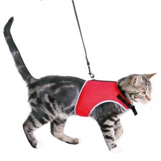 Trixie Katzen-Softgeschirr mit Leine