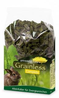 JR Farm Grainless Complete Zwergkaninchen 3, 5 kg