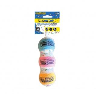 Tuff Birthday Balls 6 cm - 3er Pack