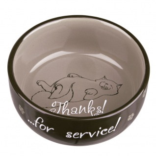 Trixie Keramiknapf Thanks for service!