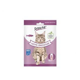 Dokas Cat Snack Lachs-Smoothie 4x30ml