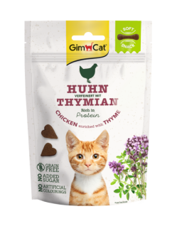 GimCat Soft Snacks Hühnchen mit Thymian 60 g
