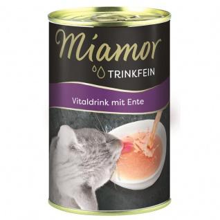 Miamor Trinkfein Vitaldrink mit Ente 135ml